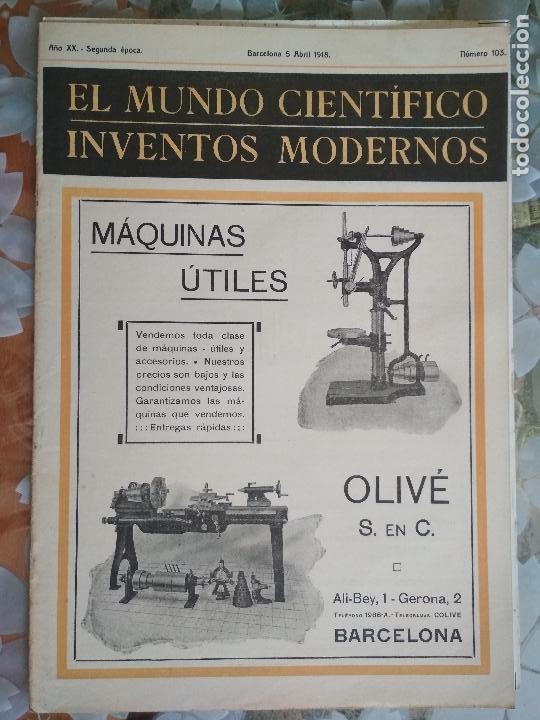 inventos 1918