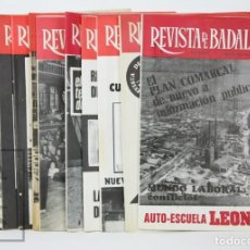 Coleccionismo de Revistas y Periódicos: CONJUNTO DE 11 REVISTAS LOCALES - REVISTA DE BADALONA - AÑOS 70. Lote 130487098