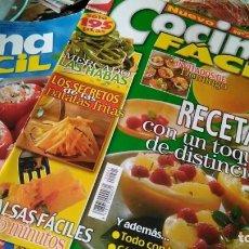 Coleccionismo de Revistas y Periódicos: 16 REVISTAS COCINA FÁCIL –LECTURAS. Lote 130624578