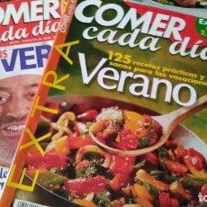 Coleccionismo de Revistas y Periódicos: REVISTA COMER CADA DIA. Lote 130624690