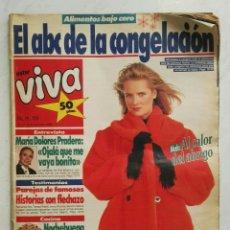 Coleccionismo de Revistas y Periódicos: REVISTA ESTAR VIVA DICIEMBRE 1989. Lote 130626347
