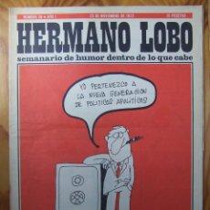 Coleccionismo de Revistas y Periódicos: 7 REVISTAS HERMANO LOBO - AÑOS 70. Lote 130672923
