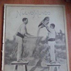 Coleccionismo de Revistas y Periódicos: REVISTA ILUSTRADA. NUEVO MUNDO. AÑO XII. Nº 603. 27-JULIO-1905.. Lote 130742814