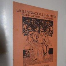 Coleccionismo de Revistas y Periódicos: LA ILUSTRACIÓ LLEVANTINA. REVISTA ARTISTICH-LITERARIA. ANY I, NÚM. 7. 10 MAIG 1900. Lote 130794024