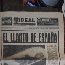 Coleccionismo de Revistas y Periódicos: IDEAL EL LLANTO DE ESPAÑA. Lote 130838620