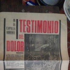 Coleccionismo de Revistas y Periódicos: PERIODICO ULTIMA CITA. Lote 130838784