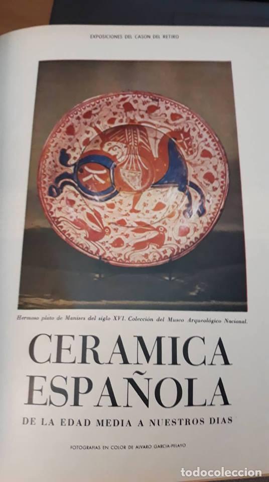 1966 Historia De La Ceramica Espanola Paterna