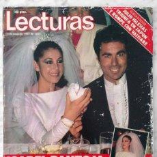Coleccionismo de Revistas y Periódicos: LECTURAS - 1983 - ISABEL PANTOJA Y PAQUIRRI, REMEDIOS AMAYA, JULIO IGLESIAS, LOLITA, SARA MONTIEL. Lote 98435519