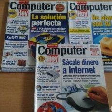 Coleccionismo de Revistas y Periódicos: LOTE DE 3 REVISTAS COMPUTER HOY ANTIGUAS USADAS. Lote 130905572