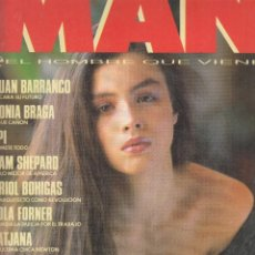 Coleccionismo de Revistas y Periódicos: REVISTA MAN Nº 20 AÑO 1989. ANA ALVAREZ. ALFONSO GUERRA. JUAN BARRANCO. SONIO BRABA. . Lote 130907232