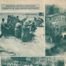 Coleccionismo de Revistas y Periódicos: AÑO 1962 INUNDACIONES EN EL VALLES SABADELL RESCATE Y AYUDA A LAS VICTIMAS. Lote 130938656
