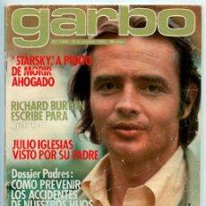 Coleccionismo de Revistas y Periódicos: GARBO - 1980 - RICHARD JORDAN, CAROLINA, MARISOL Y GADES, ANA BELÉN, JULIO IGLESIAS, RAPHAEL. Lote 48683415