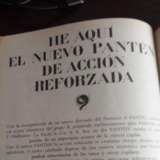 Coleccionismo de Revistas y Periódicos: 1963 ANUNCIO PANTEN . Lote 131014760