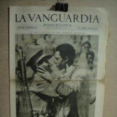 Coleccionismo de Revistas y Periódicos: LA VANGUARDIA NOTAS GRAFICAS SEPTIEMBRE 1935 - ABISINIA , PROYECTO LA NAVE LUMINOSA. Lote 131032980