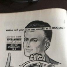Coleccionismo de Revistas y Periódicos: 1959 OLLA RAPIDA ACEROBATERIA DE BRA . Lote 131062568