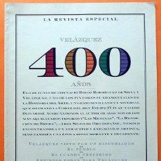 Coleccionismo de Revistas y Periódicos: RECORTE PRENSA / DOSSIER: VELÁZQUEZ, 400 AÑOS - LA REVISTA (EL MUNDO) - 40 PAGS. - 1999 - NUEVO. Lote 131067548