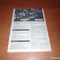 Coleccionismo de Revistas y Periódicos: RETAL 1959 TALLER APRENDIZAJE SOLDADURA INSTITUCION FORMACION PROFESIONAL VIRGEN DE LA PALOMA MADRID. Lote 131076272