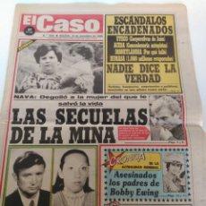 Coleccionismo de Revistas y Periódicos: PERIÓDICO EL CASO 26 DE NOVIEMBRE DE 1986 OVIEDO, LAS SECUELAS DE LA MINA. Lote 139059112