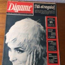 Coleccionismo de Revistas y Periódicos: REVISTA DÍGAME 1.347 1965. Lote 131122520
