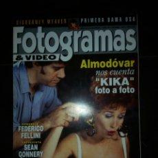 Coleccionismo de Revistas y Periódicos: REVISTA FOTOGRAMAS 1993. Lote 131124665