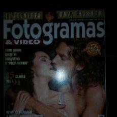 Coleccionismo de Revistas y Periódicos: REVISTA FOTOGRAMAS 1995. Lote 131124837