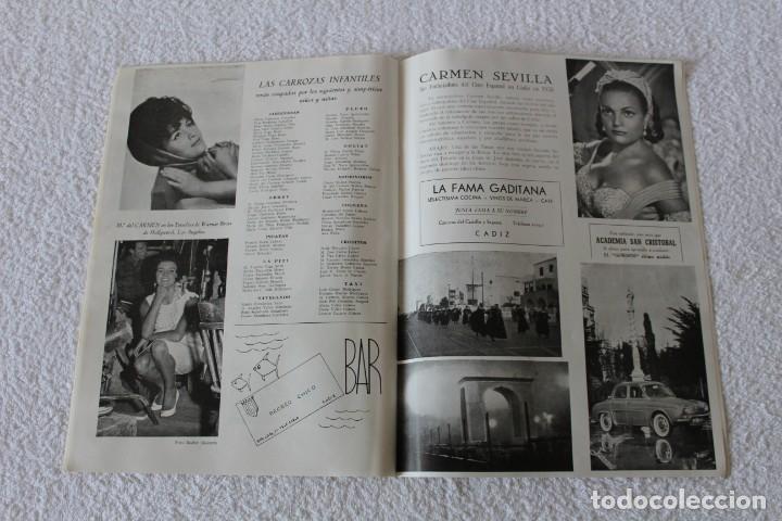 Coleccionismo de Revistas y Periódicos: REVISTA BATALLA (CADIZ) FIESTAS TIPICAS GADITANAS 1962: MARISOL, LOLITA SEVILLA, CONCHITA VELASCO... - Foto 11 - 131149208