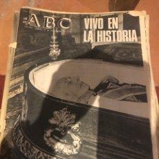 Coleccionismo de Revistas y Periódicos: ABC MUERTE DE FRANCO LOTE DE PERIÓDICOS ABC. Lote 131174640