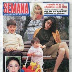 Coleccionismo de Revistas y Periódicos: SEMANA - 1986 - ISABEL PANTOJA, VIRGINIA SIPL, AMPARO LARRAÑAGA, MARÍA JIMÉNEZ, ANA DIOSDADO. Lote 56003184
