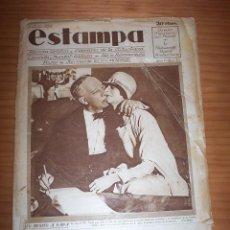 Coleccionismo de Revistas y Periódicos: ESTAMPA - NÚMERO 30 - AÑO 1928. Lote 131292319