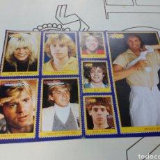 Coleccionismo de Revistas y Periódicos: PEGATINAS REVISTA SUPER POP AÑOS 80. Lote 131359397