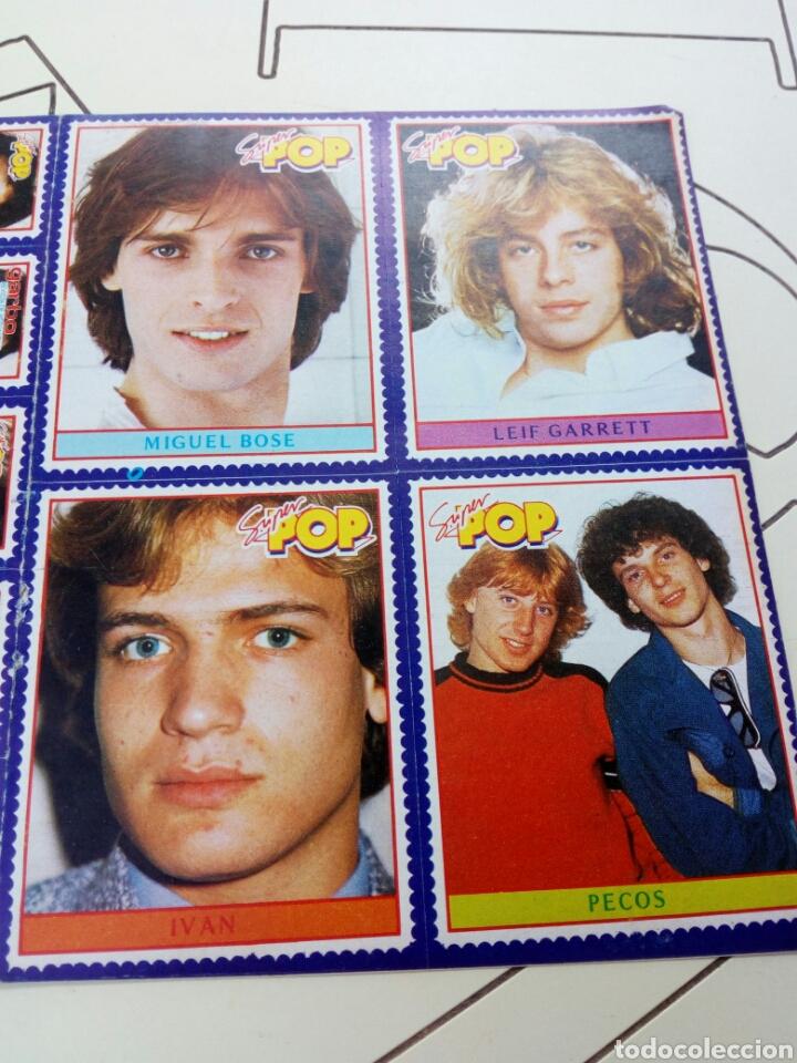 Coleccionismo de Revistas y Periódicos: Pegatinas revista super pop años 80,sin usar - Foto 2 - 131359614