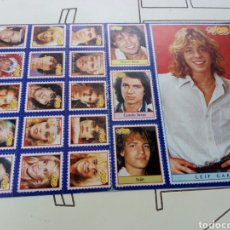 Coleccionismo de Revistas y Periódicos: PEGATINAS REVISTA SUPER POP AÑOS 80, SIN USAR. Lote 131360069