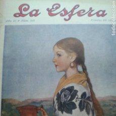 Coleccionismo de Revistas y Periódicos: REVISTA LA ESFERA NÚM. 310. DICIEMBRE 1919.. Lote 131362570