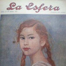 Coleccionismo de Revistas y Periódicos: REVISTA LA ESFERA. NÚM. 311. DICIEMBRE 1919.. Lote 131362993