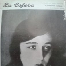 Coleccionismo de Revistas y Periódicos: REVISTA LA ESFERA. NÚM. 622. DICIEMBRE 1925.. Lote 131363266