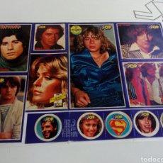 Coleccionismo de Revistas y Periódicos: PEGATINAS REVISTA SUPER POP AÑOS 80. Lote 131363466