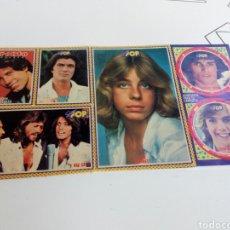 Coleccionismo de Revistas y Periódicos: PEGATINAS REVISTA SUPER POP AÑOS 80. Lote 131363878