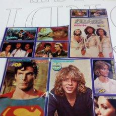 Coleccionismo de Revistas y Periódicos: PEGATINAS REVISTA SUPER POP AÑOS 80. Lote 131364311