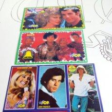Coleccionismo de Revistas y Periódicos: PEGATINAS Y POSTALES REVISTA SUPER POP AÑOS 80,SIN USAR. Lote 131365707