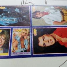 Coleccionismo de Revistas y Periódicos: PEGATINAS REVISTA SUPER POP AÑOS 80, SIN USAR. Lote 131360261
