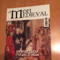 Coleccionismo de Revistas y Periódicos: REVISTA EL MÓN MEDIEVAL 12 CATALÀ 2008. Lote 131419789