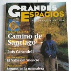 Coleccionismo de Revistas y Periódicos: REVISTA GRANDES ESPACIOS. CAMINO DE SANTIAGO. Nº 33. Lote 131428086