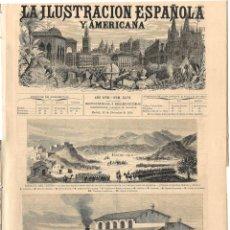 Coleccionismo de Revistas y Periódicos: LA ILUSTRACIÓN ESPAÑOLA Y AMERICANA GUERRA CARLISTA 1874 (22 DIC) . Lote 131459094