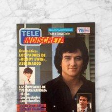 Coleccionismo de Revistas y Periódicos: TELE INDISCRETA - 1986 - PATRICK DUFFY, LAS CHICAS DE ORO, PATRICK SWAYZE, DURAN DURAN, FALCON CREST. Lote 131553146