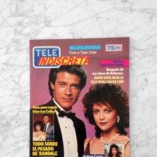 Coleccionismo de Revistas y Periódicos: TELE INDISCRETA - 1986 - LOS COLBY, DAVID SOUL, LORENZO LAMAS, FALCON CREST, BERTIN OSBORNE. Lote 131553658