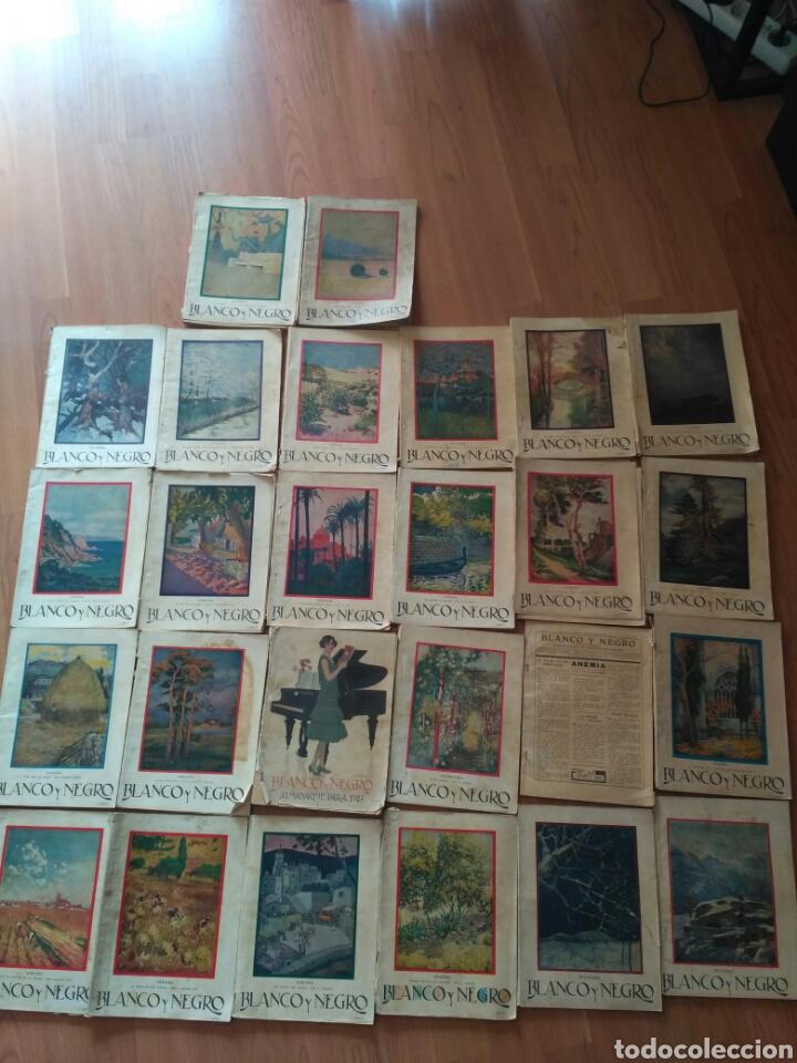 REVISTAS BLANCO Y NEGRO, AÑO 1927. PREGUNTAR PARA LOTE (Coleccionismo - Revistas y Periódicos Antiguos (hasta 1.939))