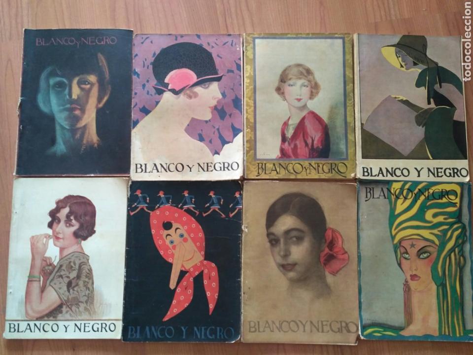 REVISTAS BLANCO Y NEGRO, AÑO 1926. 8 NÚMEROS, ENERO Y FEBRERO. PREGUNTAR PARA LOTE (Coleccionismo - Revistas y Periódicos Antiguos (hasta 1.939))