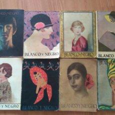 Coleccionismo de Revistas y Periódicos: REVISTAS BLANCO Y NEGRO, AÑO 1926. 8 NÚMEROS, ENERO Y FEBRERO. PREGUNTAR PARA LOTE. Lote 131566338
