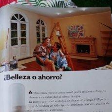 Coleccionismo de Revistas y Periódicos: ANUNCIO BOMBILLAS PHILIPS. Lote 179342408