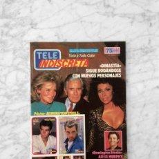 Coleccionismo de Revistas y Periódicos: TELE INDISCRETA - 1986 - DINASTIA, TOCATA, REMINGTON STEELE, ALASKA, FALCON CREST, MIGUEL BOSE. Lote 131616418